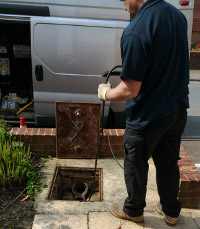 Drain excavation in Gillingham and Medway